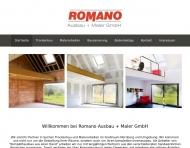 Website Romano Ausbau + Maler