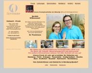 Bild Webseite Zahnarztpraxis Dres. Christiane und Hans-Joachim Schneider Nürnberg