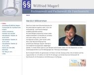 Bild Webseite Rechtsanwalt Wilfried Magerl Nürnberg