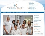 Bild Webseite Dr. med. Ingo Reimold Nürnberg