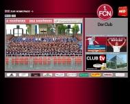 Bild Webseite 1. FC Nürnberg Nürnberg