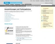 Website Debeka Versichern Bausparen Landesgeschäftsstelle