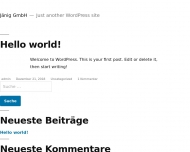 Bild Webseite Jänig Nürnberg