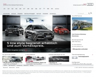 Bild Webseite Audi Zentrum Nürnberg-Marienberg Nürnberg