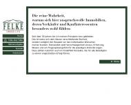 Website Felke Immobilien