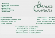 Bild Bahlke Consult Ingenieurgesellschaft mbH