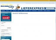 Bild Webseite Getränke City Potsdam