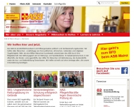 Bild Webseite Arbeiter Samariter-Bund Mainz