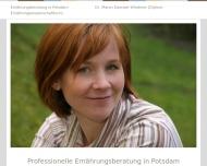 Bild Dr. Maren Daenzer-Wiedmer. Ernaehrungsberatung Potsdam