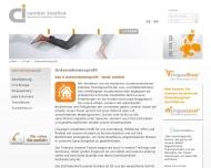 Website ci cambio Institut