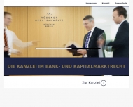 Bild Webseite Rössner & Kollegen München