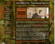 Bild Webseite 4asia ART & SPA München