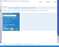 Bild Webseite Münchner Bank VBM Leasing München