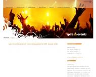 Website spire!events