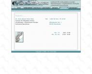 Website Dr. med. Johann-Peter Weis