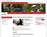 Bild Webseite Caritas-Sozialstation München