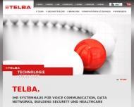 TELBA auf der MEDICA 2013. Halle 14 Stand A 41 Voice Communication, Data Networks und Building Secur...