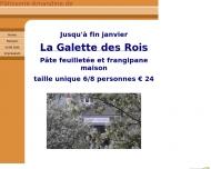 Website Patisserie Amandine