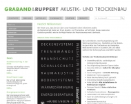 Bild Graband & Ruppert GmbH Akkustik- und Trockenbau