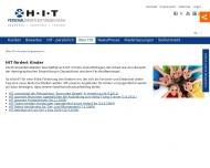 Website Personaldienstleistungen und Zeitarbeit HIT - Personal