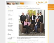 Bild Webseite Kanzlei Ratzke Hill München