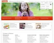 Bild Webseite Cornelsen Verlagsges. München