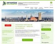 Bild Webseite Dr. med. Gerhard Mehling München