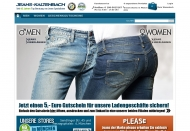 Bild Webseite Jeans - Kaltenbach München