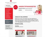 Bild Webseite Rosen-Apotheke München