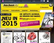 Bild Webseite Radlbauer München