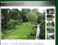 Bild Webseite Gartenbau Fischer München