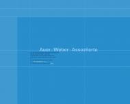 Bild Webseite Auer + Weber + Assoziierte München