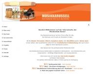 Bild Webseite Musikschule Kovac in München, Klavierunterricht, Saxophon ... München