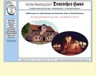 Bild Webseite  Bad Brückenau