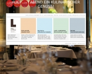 Bild Webseite Cafe Luitpold Cafeteria München
