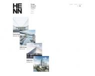 Bild Webseite Henn Architekten München