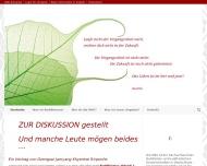 Bild Webseite Deutsche Buddhistische Union München