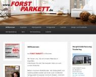 Bild Webseite Forst Parkett München Parkettboden Kork Laminat München