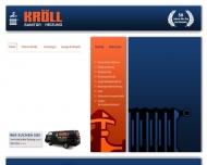 Bild Webseite Kröll München