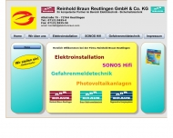 Website Braun Reinhold