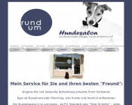Bild Webseite Hundesalon Nicole Oeder Nürnberg