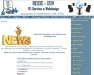 Website Bozic-EDV PC-Service