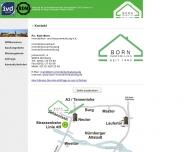 Website Born Immobilien