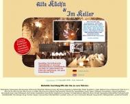 Bild Webseite Alte Küche Nürnberg