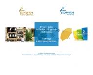 Schwan-Werbung