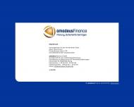 Website Amadeus Finanzmakler