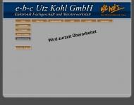 Website e-b-c Utz Kohl