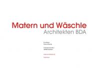 Bild Matern und Wäschle Architekten (BDA)