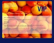 Bild Webseite VIP Köln