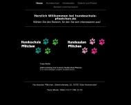 Bild Webseite Hundesalon Pfötchen Köln